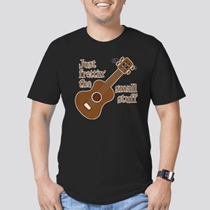 Frettin mahogony Men's Fitted T-Shirt (dark)