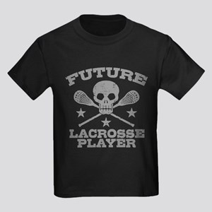 Future Lacrosse Player Kids Dark T-Shirt