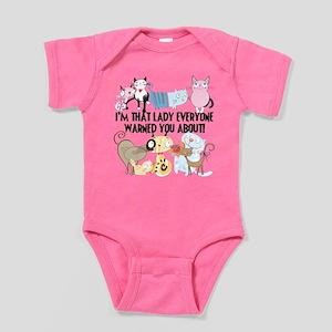 That Cat Lady Baby Bodysuit