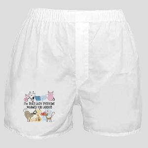 That Cat Lady Boxer Shorts