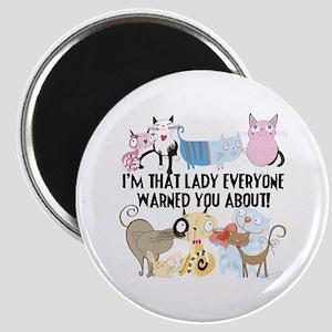 That Cat Lady Magnet