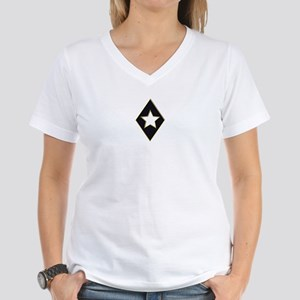 LOGO1 Women's V-Neck T-Shirt