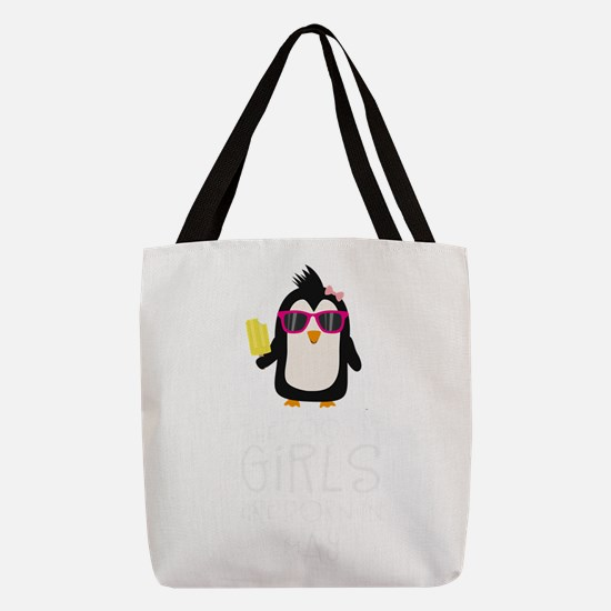 Coolest Girls Birthday in MAY Polyester Tote Bag