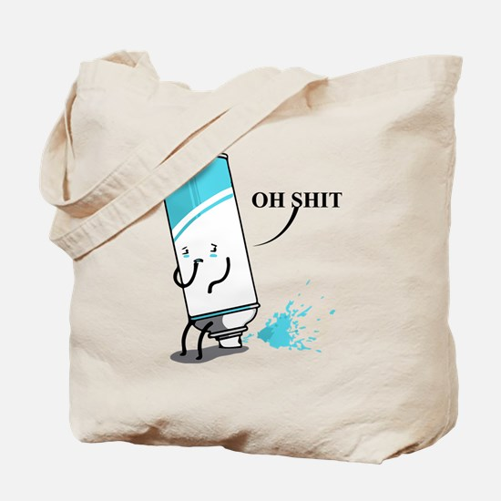 Oh Shit, Witty Saying Tote Bag