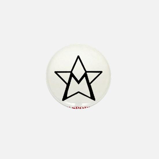 Cute Morgan horse Mini Button