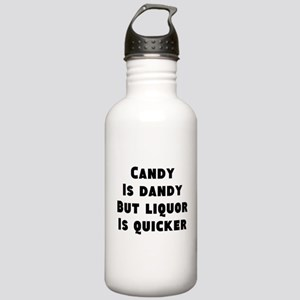 Liquor is Quicker Stainless Water Bottle 1.0L