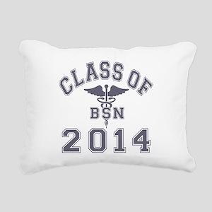 Class Of 2014 BSN Rectangular Canvas Pillow