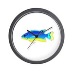 Southseas Damselfish Wall Clock