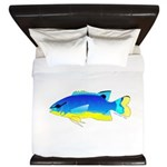 Southseas Damselfish King Duvet