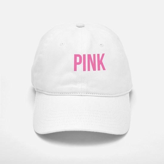 Go Pink! Baseball Baseball Cap