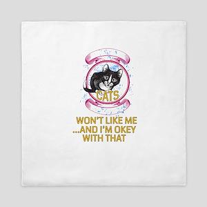 Cat Design Queen Duvet