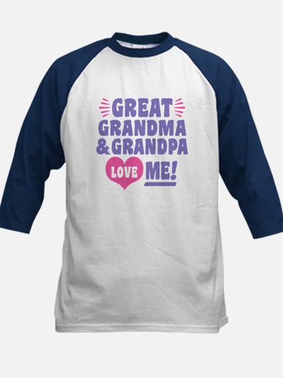 Great Grandma and Grandpa Love M Tee