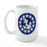 Stars and Anchor Large Mug