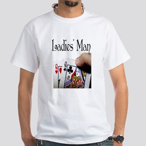 Ladies' Man White T-Shirt
