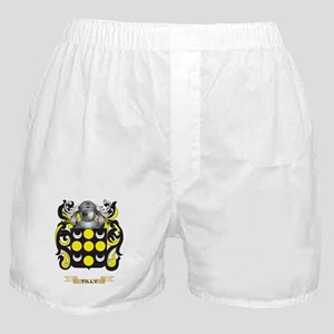 Tilly Family Crest (Coat of Arms) Boxer Shorts
