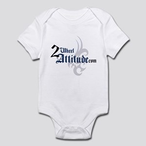 2 Wheel Attitude Infant Bodysuit