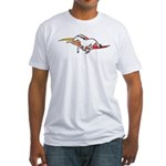 Tattoo Horse Fitted T-Shirt