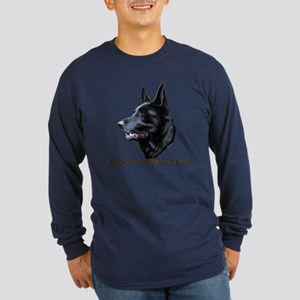 Black Sheps Rock Long Sleeve Dark T-Shirt
