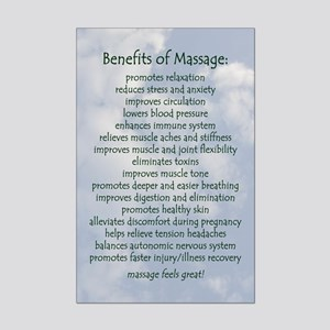 Benefits Of Massage Mini Poster Print