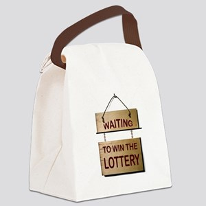 LOTTERY Canvas Lunch Bag