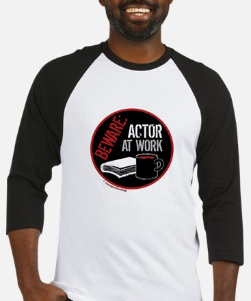 Actor at Work Baseball Jersey