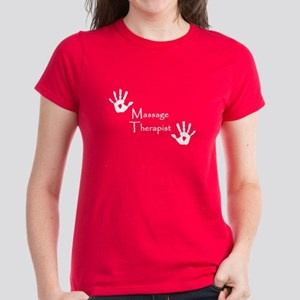 Handprints Women's Dark T