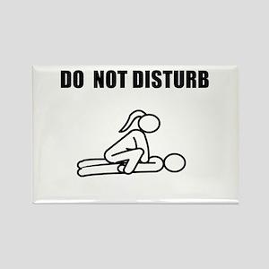 Do Not Disturb<br> Rectangle Magnet