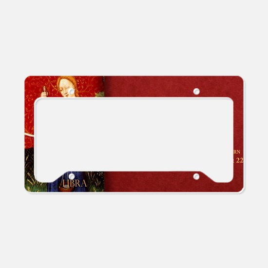 Libra Historical License Plate Holder