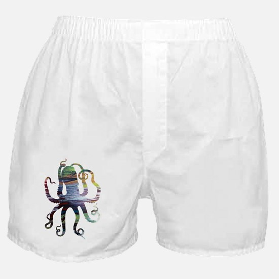 Colored womens Boxer Shorts