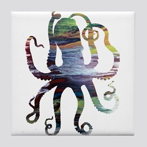 Octopus Tile Coaster