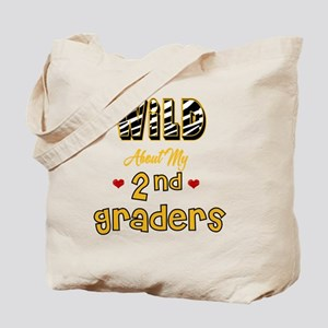Wild about my  2nd Graders Tote Bag