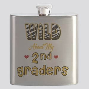 Wild about my  2nd Graders Flask