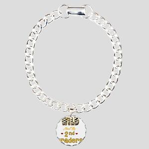 Wild about my  2nd Grade Charm Bracelet, One Charm