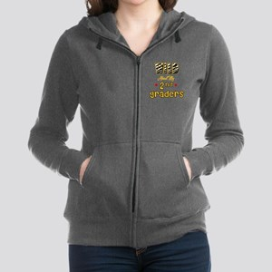 Wild about my  2nd Graders Zip Hoodie