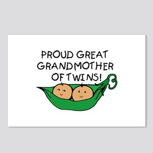 proud great grandmother pod Postcards (Package of