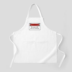 Attitude Baker BBQ Apron