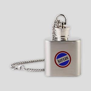 Korean Pride Flask Necklace