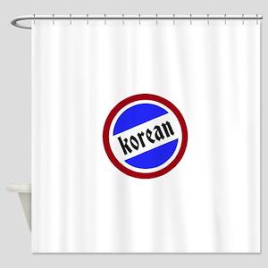 Korean Pride Shower Curtain