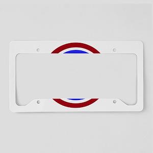 Korean Pride License Plate Holder