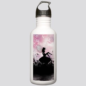Fairy Silhouette Stainless Water Bottle 1.0L
