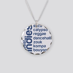 wi music Necklace Circle Charm