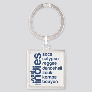 wi music Square Keychain