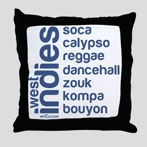 wi music Throw Pillow