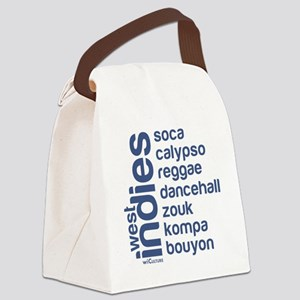 wi music Canvas Lunch Bag