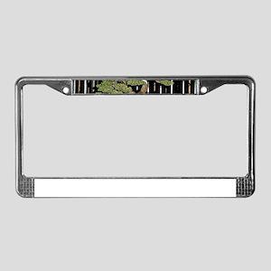 Bonsai Tree License Plate Frame
