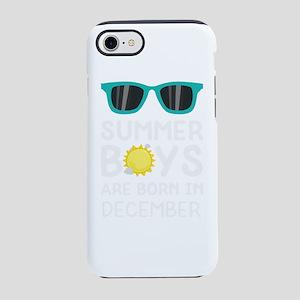 Summer Boys in DECEMBER iPhone 7 Tough Case
