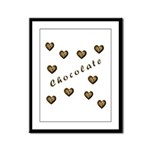 chocolate Framed Panel Print