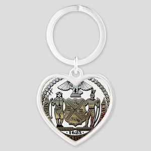 New York Heart Keychain