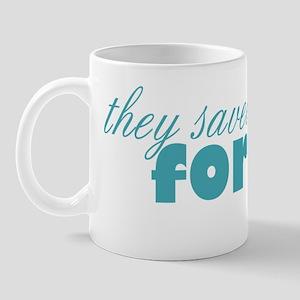 best for last teal Mug