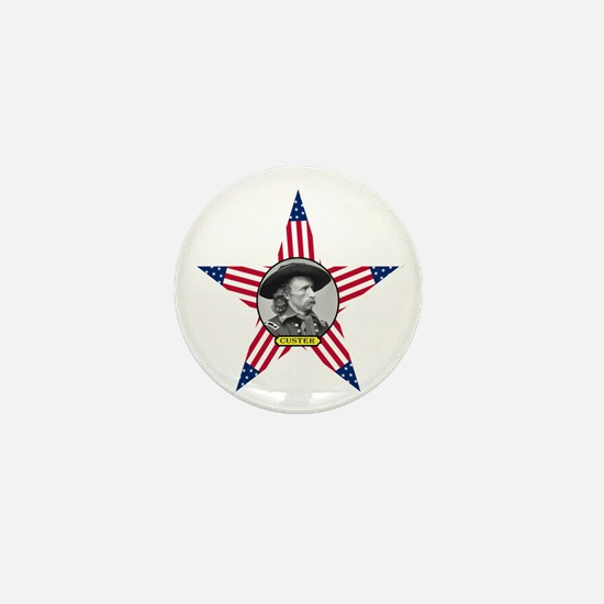 George Armstrong Custer Mini Button